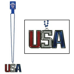 USA Bling Bead