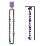 Mardi Gras Beads Of Expression (3/pkg)