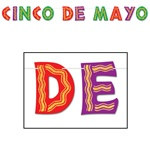 Glittered Cinco de Mayo Banner