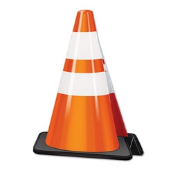3-D Construction Cone Centerpiece