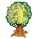 3-D Wedding/Anniversary Money Tree