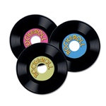 Customizable Plastic Records (3/pkg)