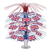British Flag Cascade Centerpiece