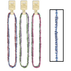 Assorted Happy Anniversary Beads-Of-Expression (2/pkg)