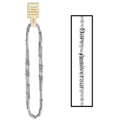 Silver Happy Anniversary Beads-Of-Expression (2/pkg)