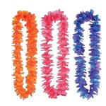 Assorted Silk N Petals Tropical Sunset Leis (1/pkg)