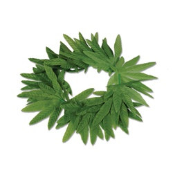 Tropical Fern Leaf Headband