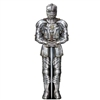 The Jointed Suit of Armor makes a perfect wall decoration for lining the walls of an entrance hallway or posting on either side of the main entrance door. It is a great, easy-to-use decoration that measure six feet tall! Comes one per package.