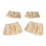 Raffia Arm and Leg Ties (4/pkg)