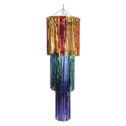 Multi-Color 3-Tier Shimmering Chandelier
