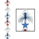 Patriotic Star Firework Stringer