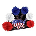 Patriotic Pop-Over Centerpiece
