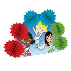 Cheerleading Pop-Over Centerpiece