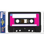 Tape Cassette Peel N Place Decal