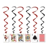 Playing Card Whirls (5/pkg)