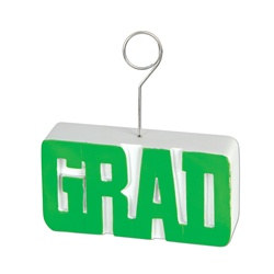 Green GRAD Photo/Balloon Holder