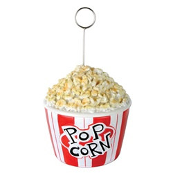 Popcorn Photo/Balloon Holder