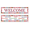 International Welcome Banners
