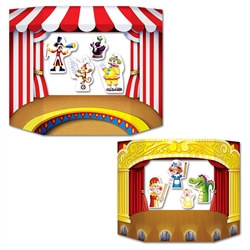Puppet Show Theater Photo Prop