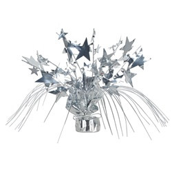 Silver Star Gleam N Spray Centerpiece