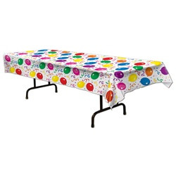 Balloons and Confetti Tablecover
