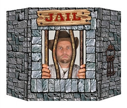 Jail Photo Prop