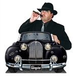 Gangster Car Photo Prop