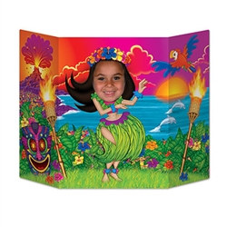 Hula Girl Photo Prop