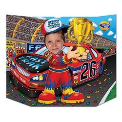 Race Car Driver Photo Prop