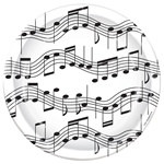 Musical Note Lunch Plates