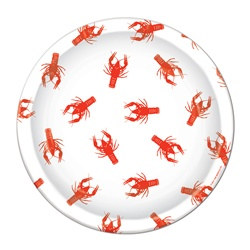 Crawfish Luncheon Plates (8/pkg)
