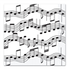 Musical Note Lunch Napkins