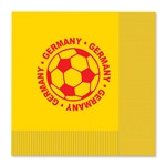 Germany Soccer Luncheon Napkins (16/Pkg)