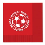 Mexico Soccer Luncheon Napkins (16/Pkg)