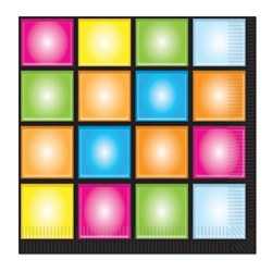 Disco Lunch Napkins (16/pkg)