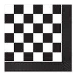 Checkered Luncheon Napkins (16/pkg)