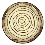 Dine in style with the Woodland friends at a camping party! Our Woodland Friends Plates are the perfect plates for any outdoor themed party. These durable paper plates measure nine inches and have an exquisite, wood-like design on them. 8 per package.