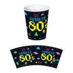 80's Hot/Cold Cups (8/pkg)