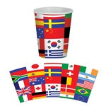 International Flag Hot/Cold Cups