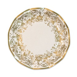 Traditional Gold Small Plates (10/pkg)
