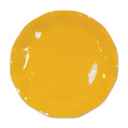 Yellow Medium Plates (10/pkg)