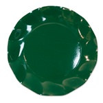 Dark Green Large Plates (10/pkg)