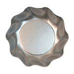 Satin Silver Small Bowls (10/pkg)