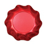 Satin Red Medium Bowls (10/pkg)