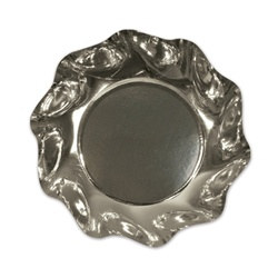 Metallic Silver Medium Bowls (10/pkg)