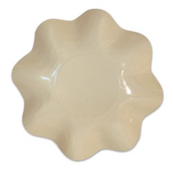 Cream Large Bowl (1/pkg)