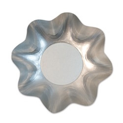Satin Silver Large Bowl (1/pkg)