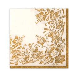 Traditional Gold Napkins (20/pkg)