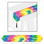 Printed Tie-Dyed Table Runner
