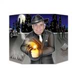Have you ever wanted to look like an old-fashioned 1920's gangster? This Gangster Photo Prop will help create memorable keepsakes for the guests at your next gangster theme party.